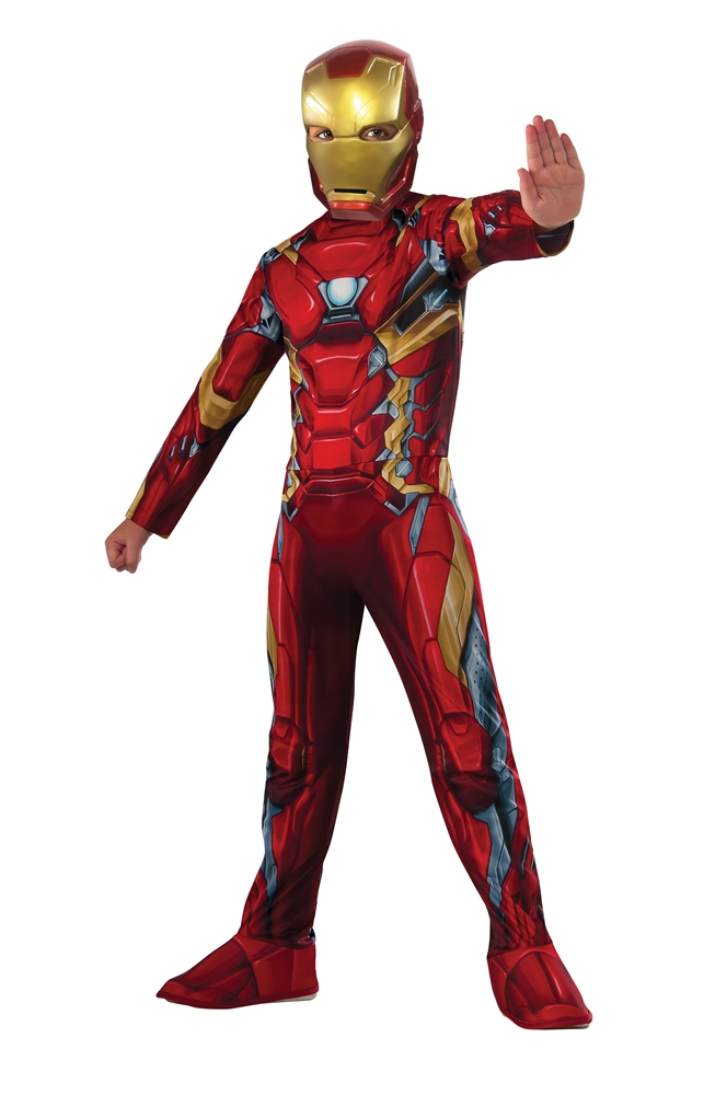 how to make an iron man costume easy