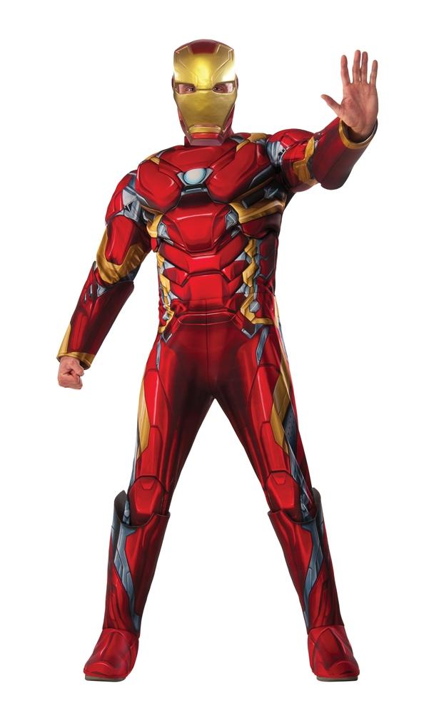 Captain America: Civil War Deluxe Iron Man Adult Mens Costume