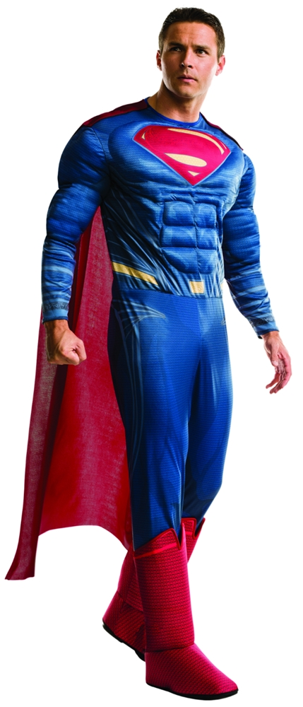 Batman v Superman Deluxe Superman Adult Mens Costume