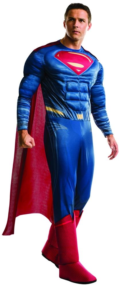 Batman v Superman Deluxe Superman Adult Mens Costume 810925