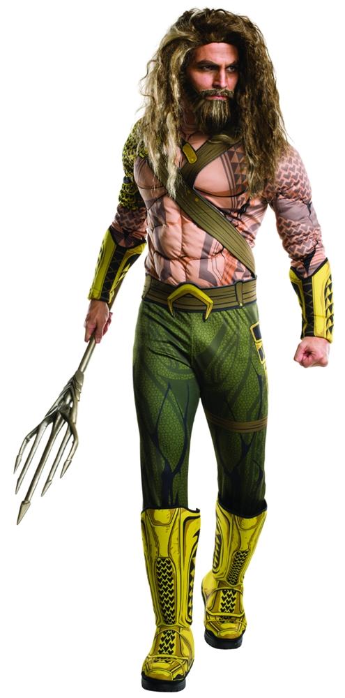 Batman v Superman Deluxe Aquaman Adult Mens Costume