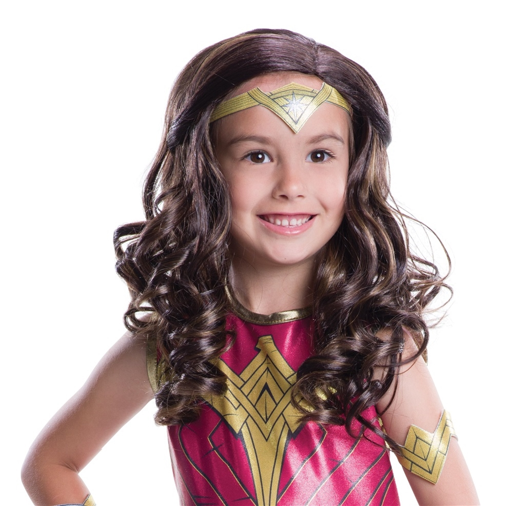 Batman v Superman Wonder Woman Child Wig