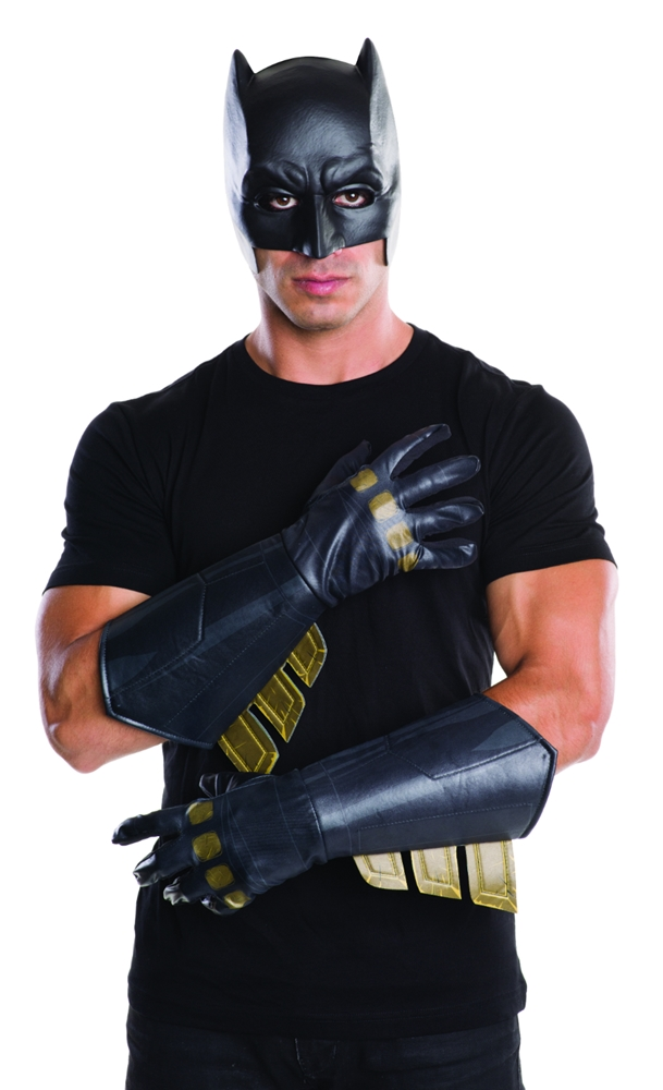 Batman v Superman Batman Adult Gauntlets 32665