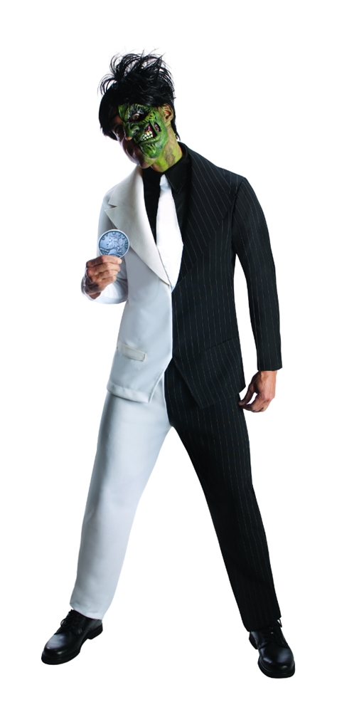 Two-Face Adult Mens Costume (Adult Twoface Costume)