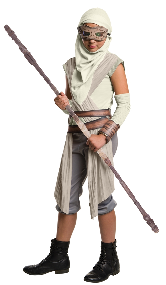 Star Wars: The Force Awakens Rey Child Mask & Hood