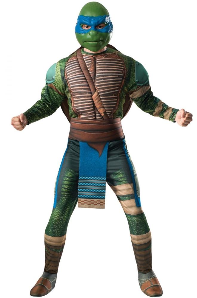 Ninja Turtles Movie 2 Leonardo Adult Mens Costume