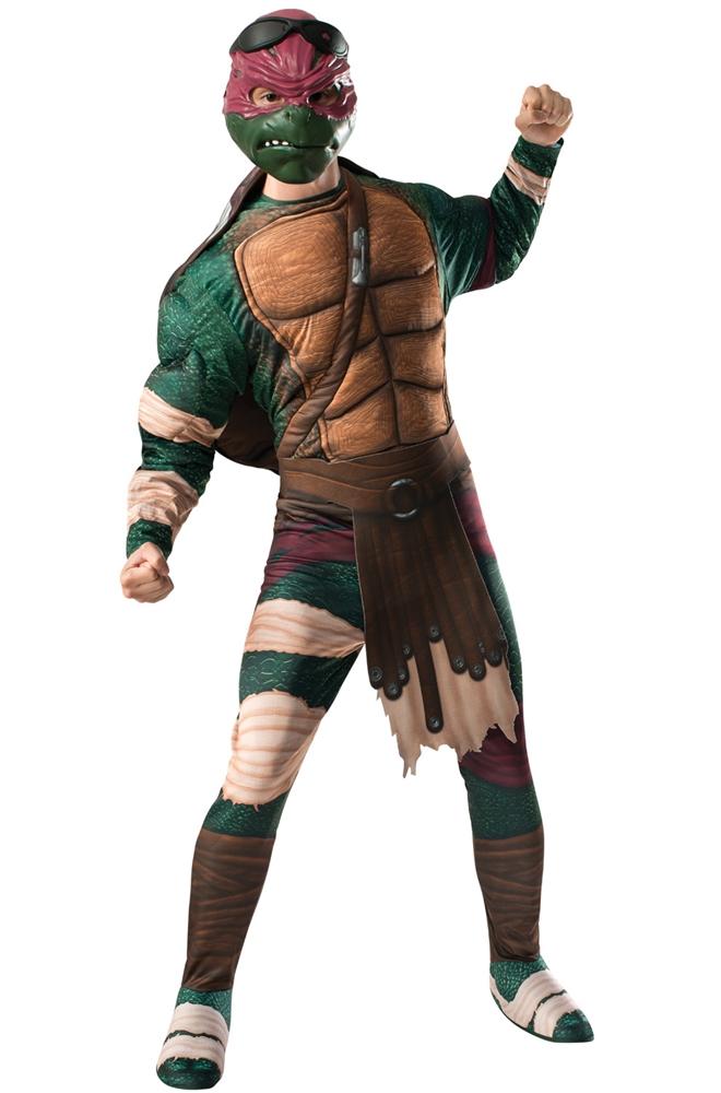 Ninja Turtles Movie 2 Raphael Adult Mens Costume