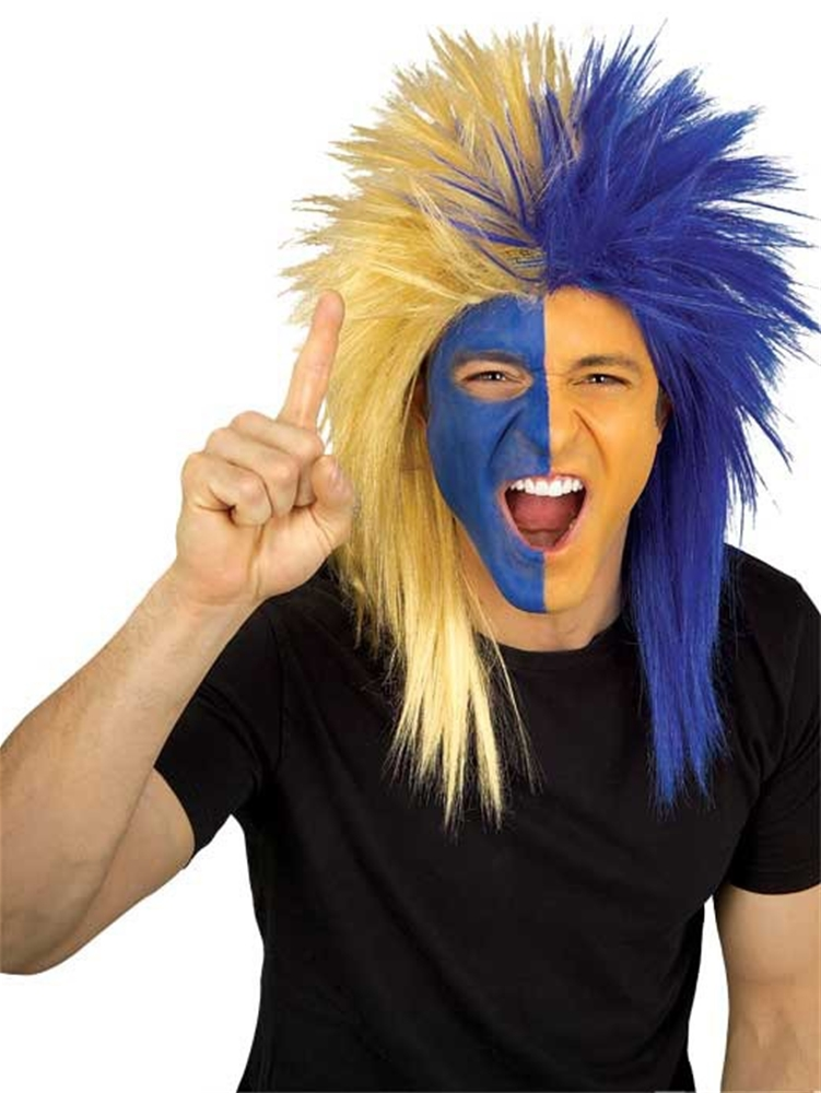 Los Angeles Rams Blue & Gold Wig
