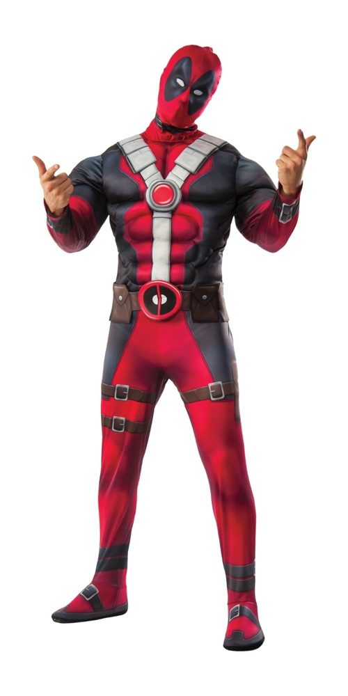 Deadpool Deluxe Adult Mens Plus Size Costume 17971