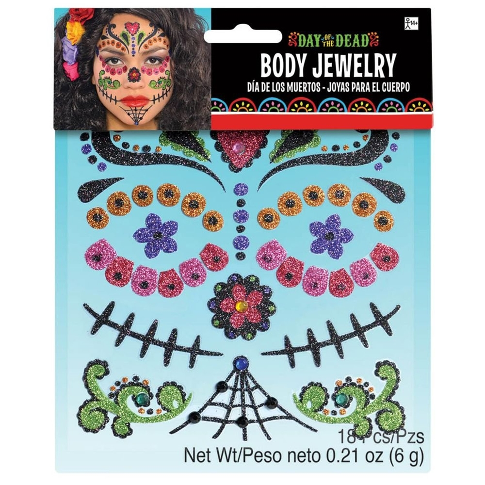day of the dead body jewelry 371371