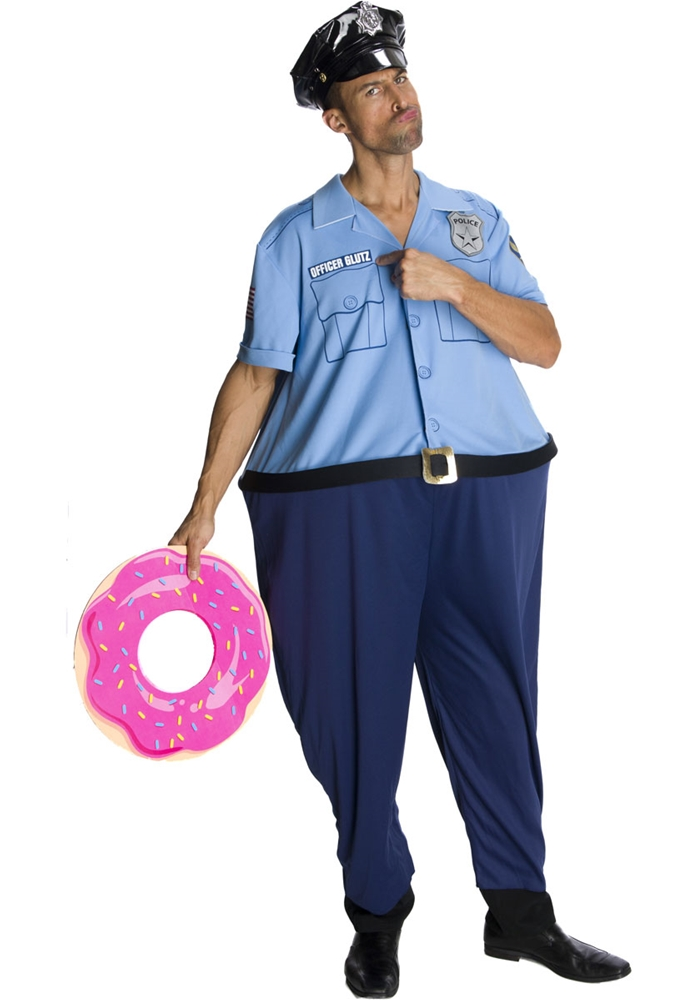 Officer Glutz Adult Mens Costume