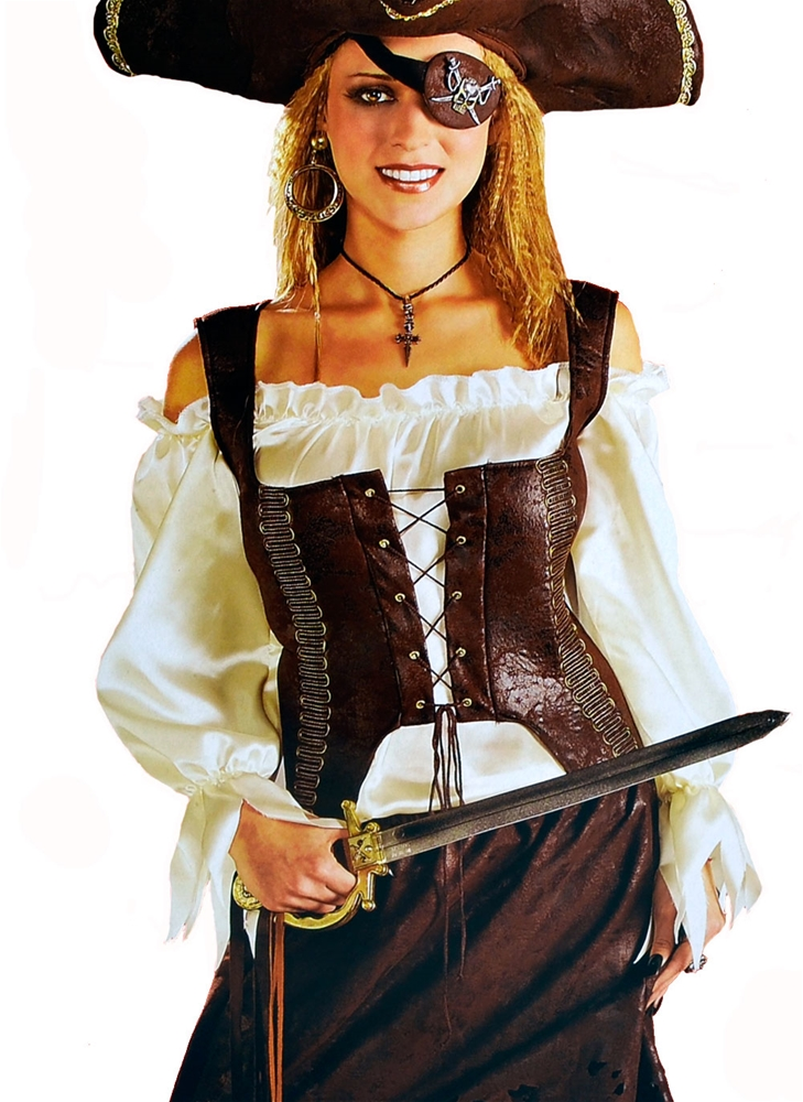 Renaissance Pirate Adult Womens Vest