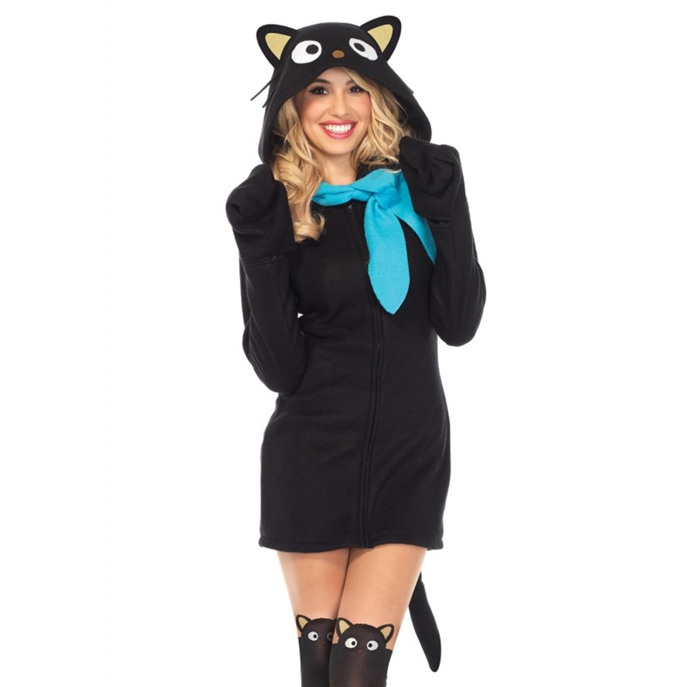 Hello Kitty Cozy Chococat Dress Adult Womens Costume
