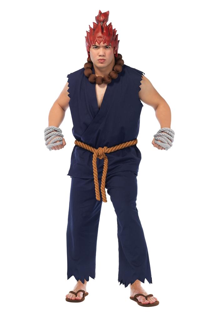 Street Fighter Akuma Adult Mens Costume SF86660