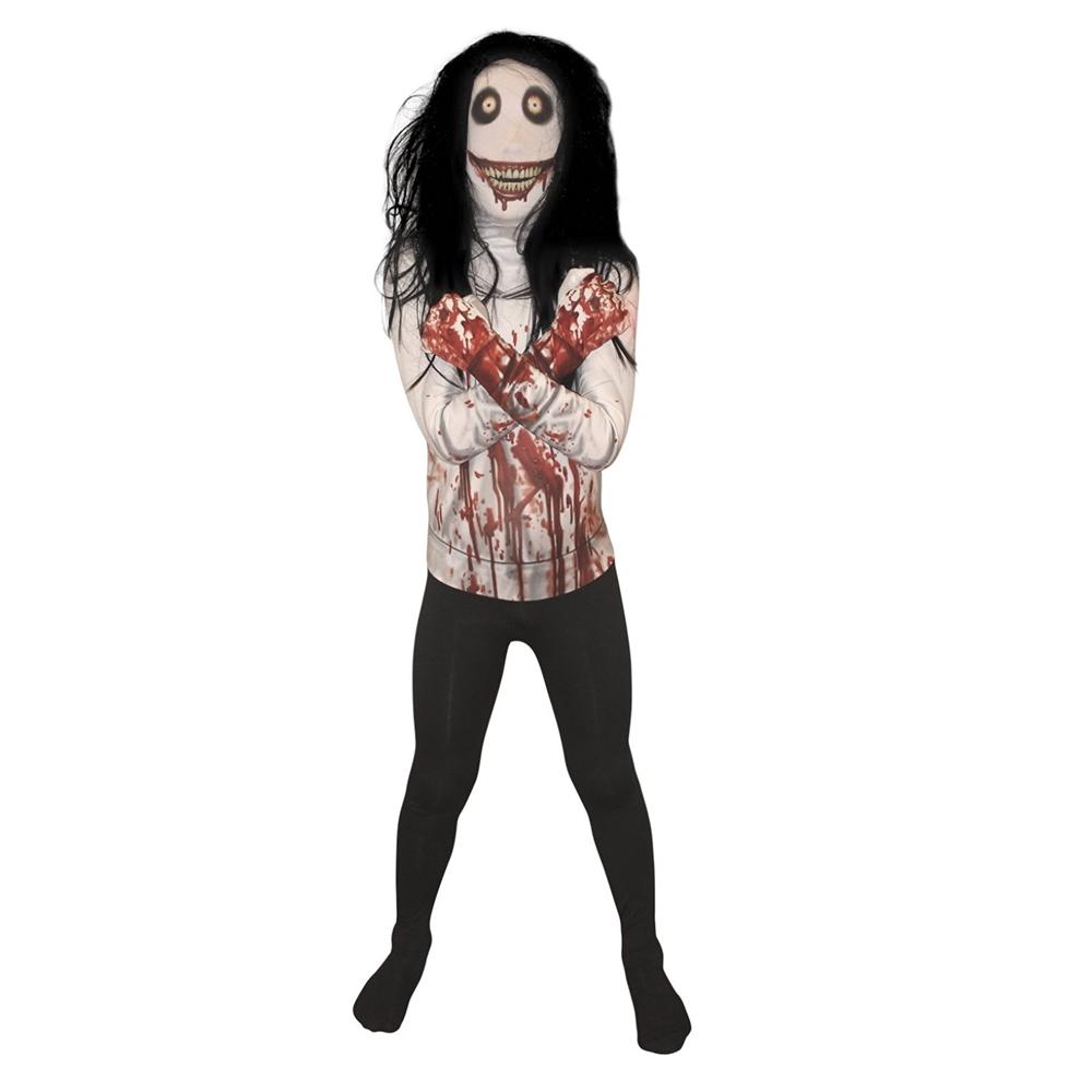 Jeff the Killer Morphsuit Child Costume