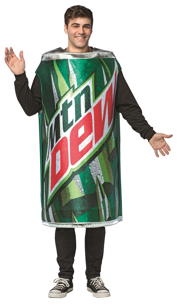 Mountain Dew Can Adult Unisex Costume