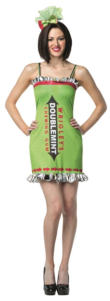 Wrigley's Doublemint Gum Adult Womens Dress