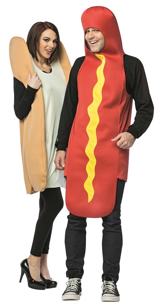 Hot Dog & Bun Adult Costume Set