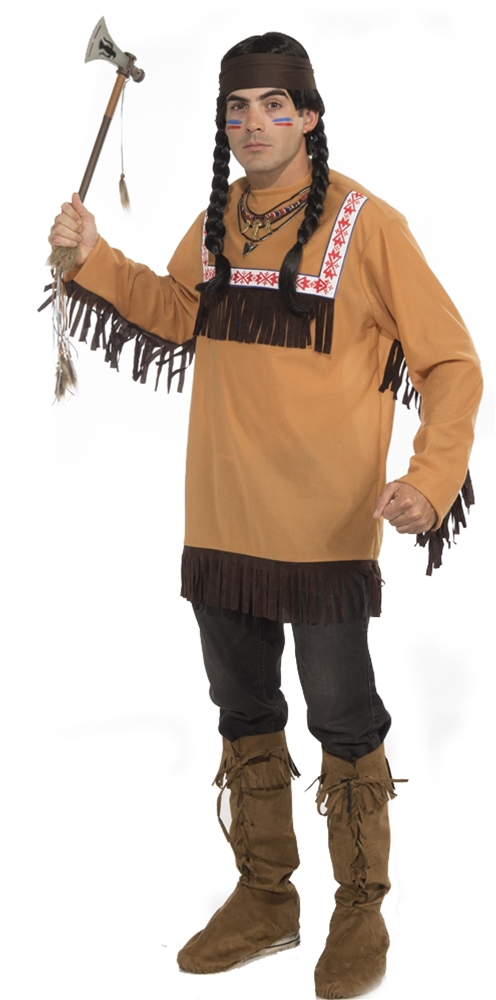 Native American Indian Adult Mens Costume (Indian Mens Costume)