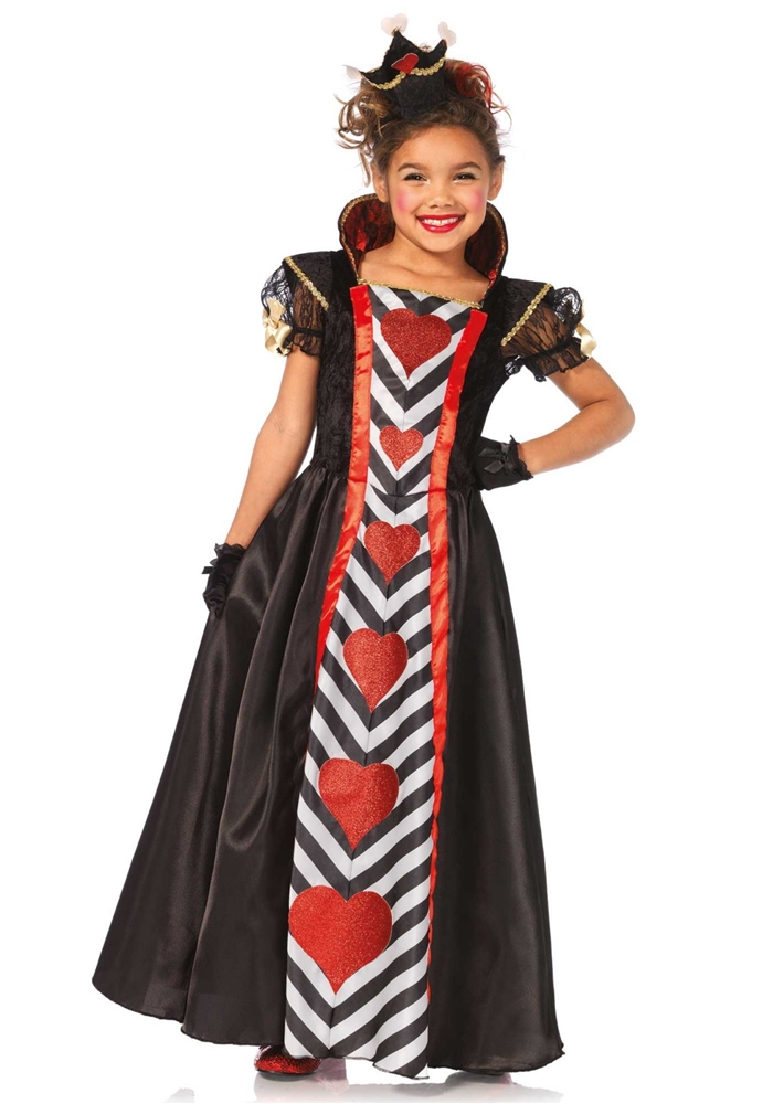 queen of hearts child costume 372369 trendyhalloweencom