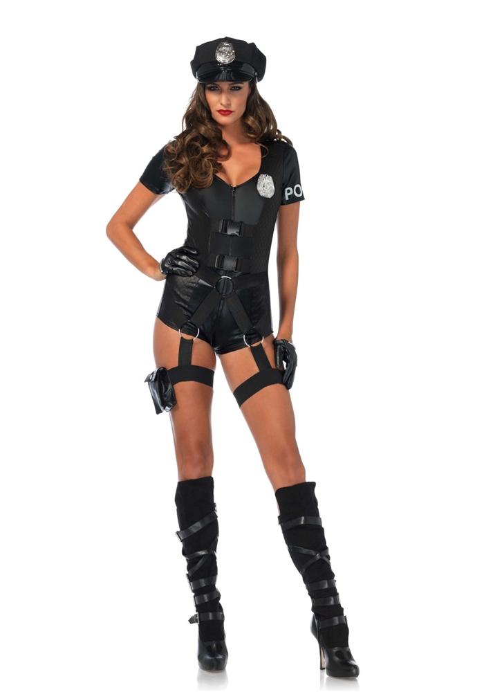 Flirty Five-O Adult Womens Costume