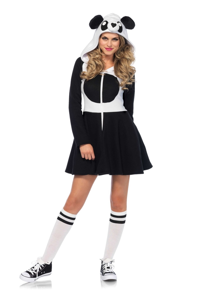 Cozy Panda Dress Adult Womens Costume