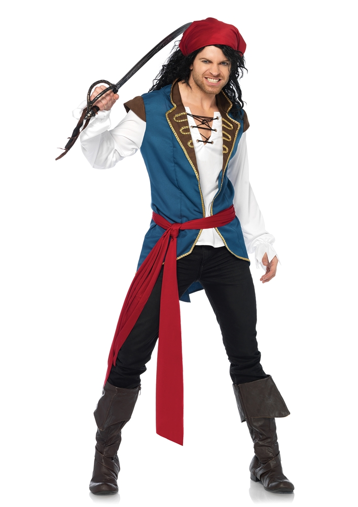 Pirate Scoundrel Adult Mens Costume