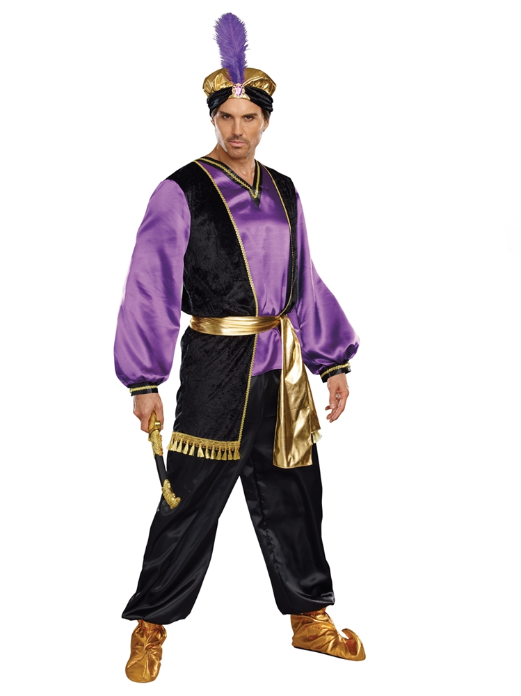 The Sultan Adult Mens Costume