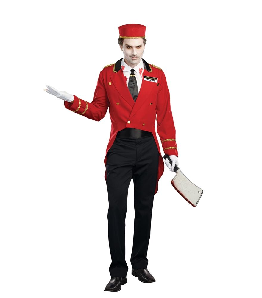 Www Halloween Decorating Ideas: Horror Hotel Bellman Adult Mens Costume