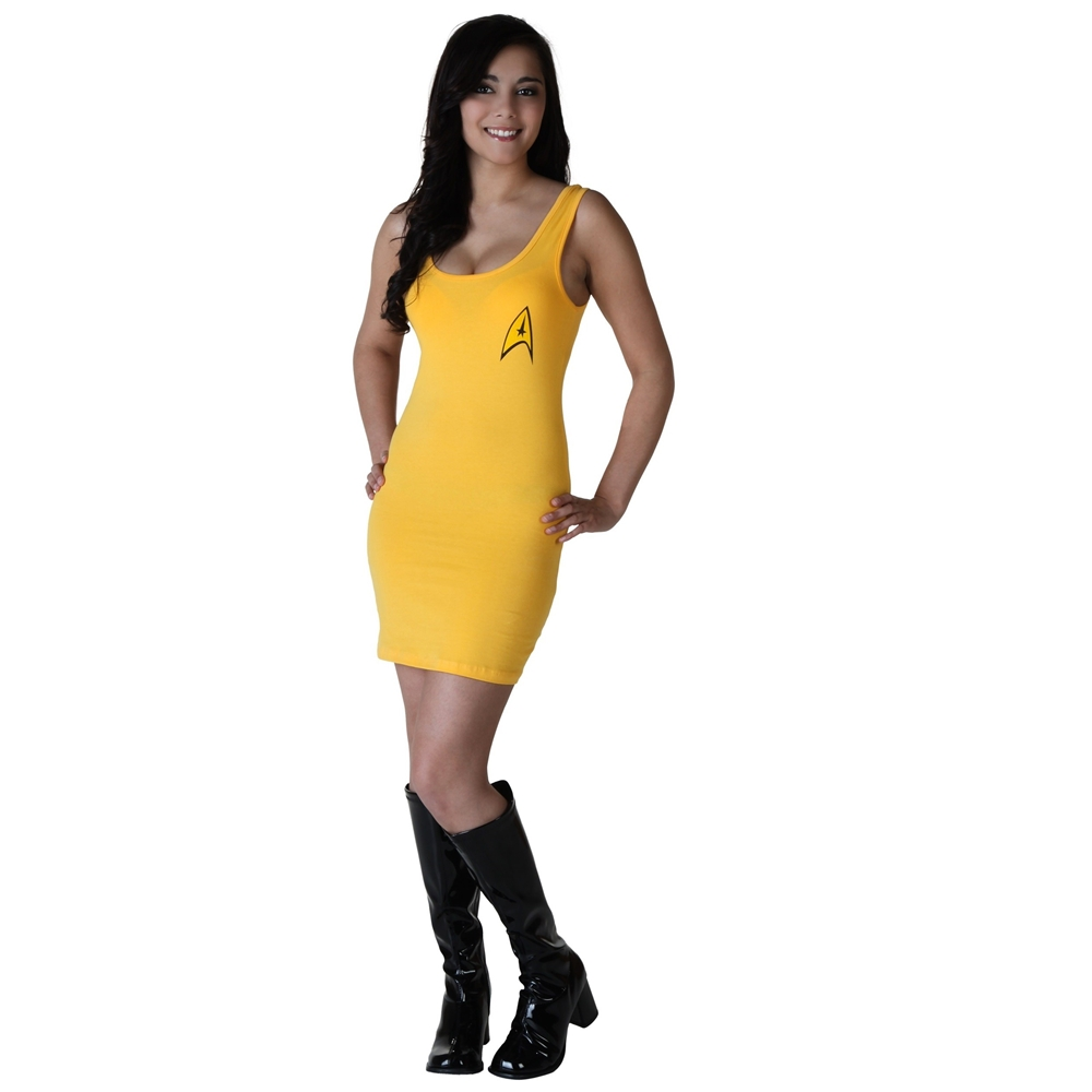 Star Trek Captain Kirk Adult Womens Tank Dress