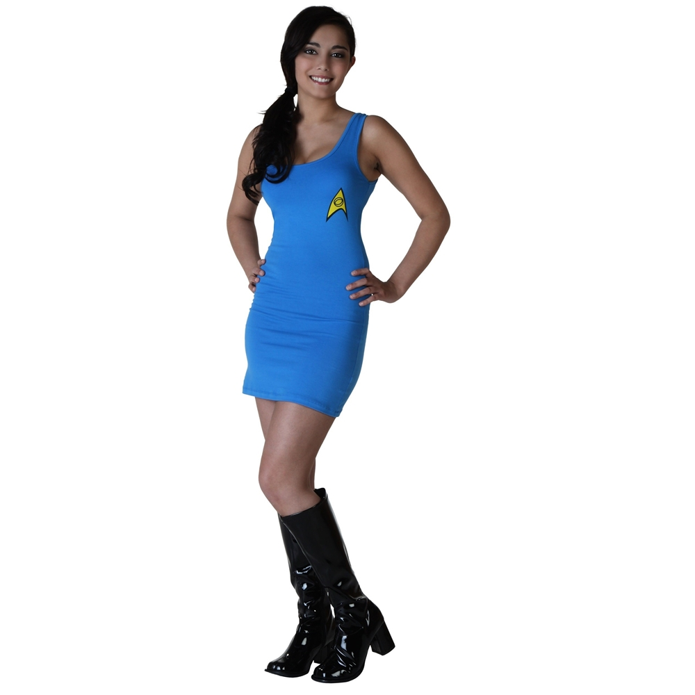 Star Trek Spock Adult Womens Tank Dress