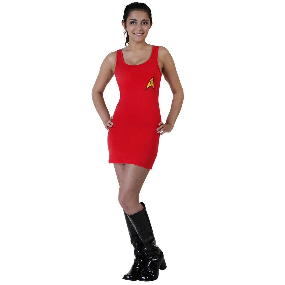 Star Trek Scotty Adult Womens Tank Dress