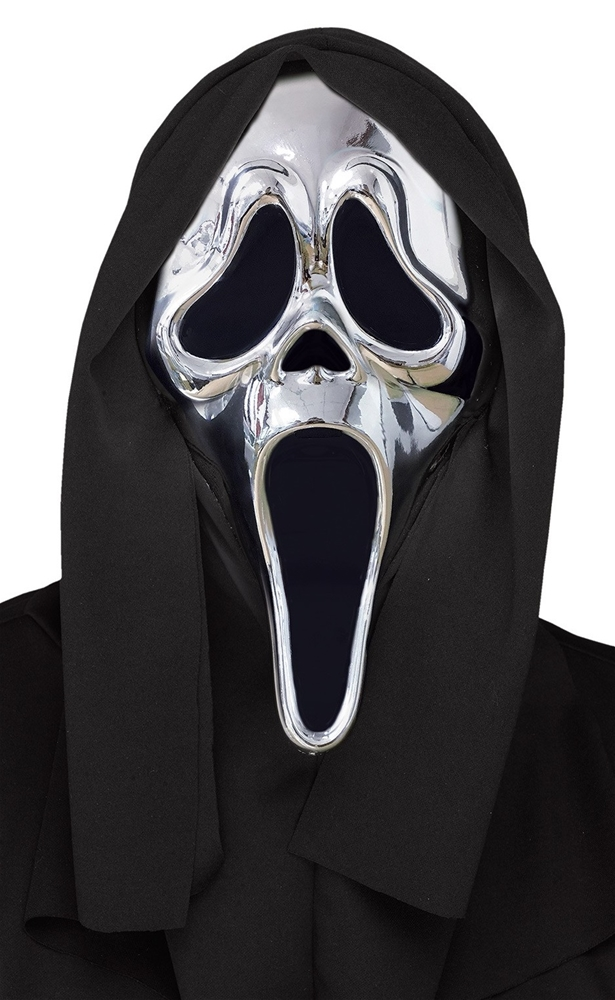 [Ghost Face 25th Anniversary Silver Mask] (Silver Mask)