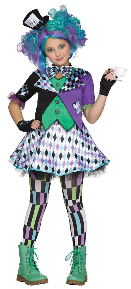 Miss Mad Hatter Child Costume