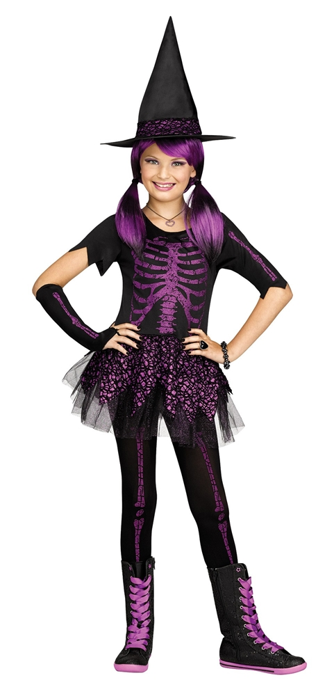 Skele-Witch Child Costume