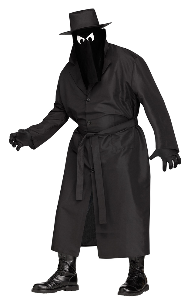 Spy Guy Adult Mens Plus Size Costume