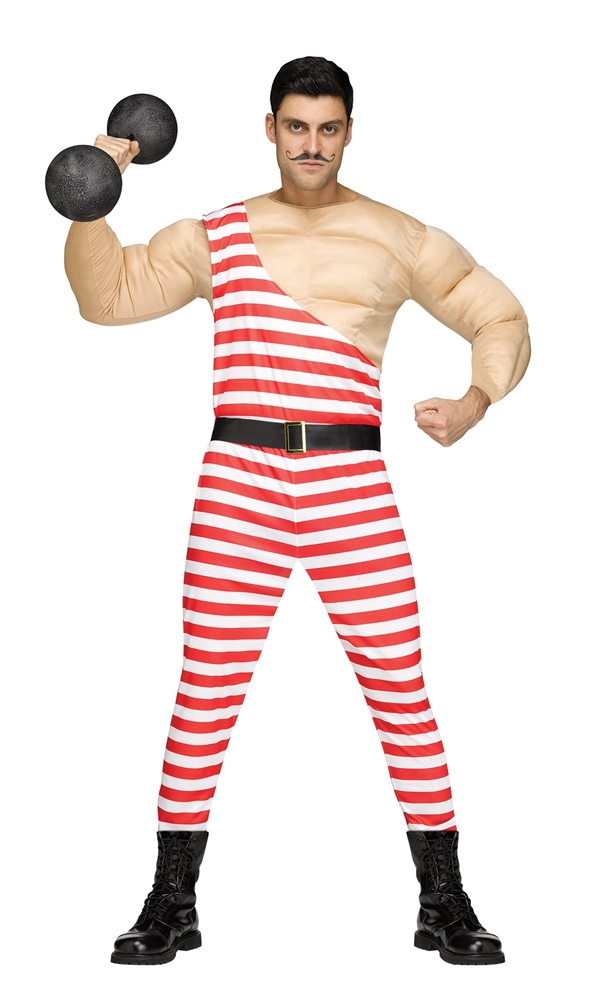 Carny Strongman Adult Mens Costume