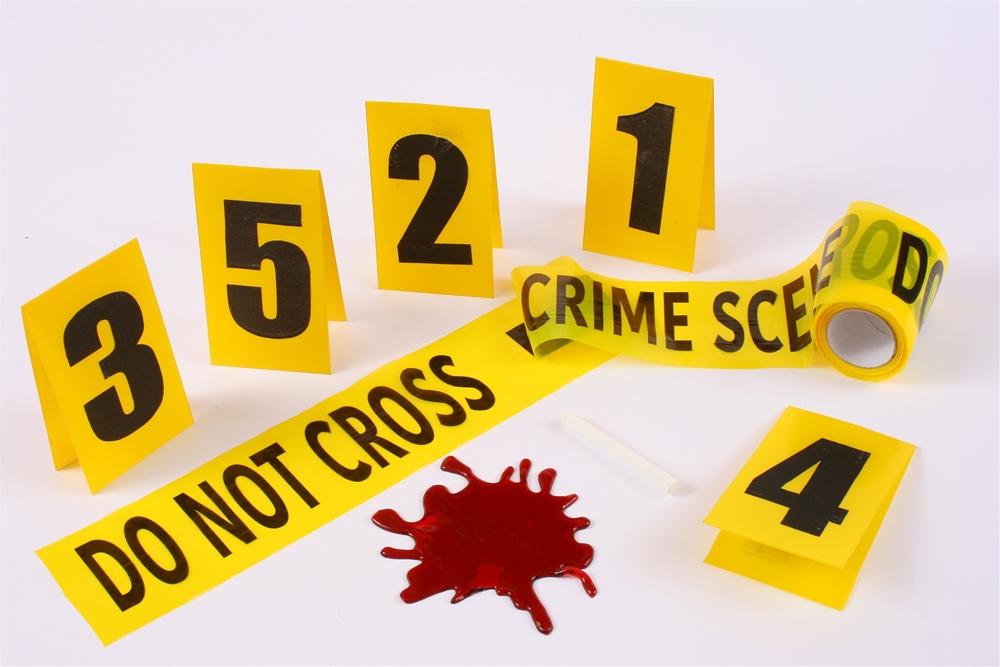 [Crime Scene Decoration Kit] (Crime Scene Decorations)