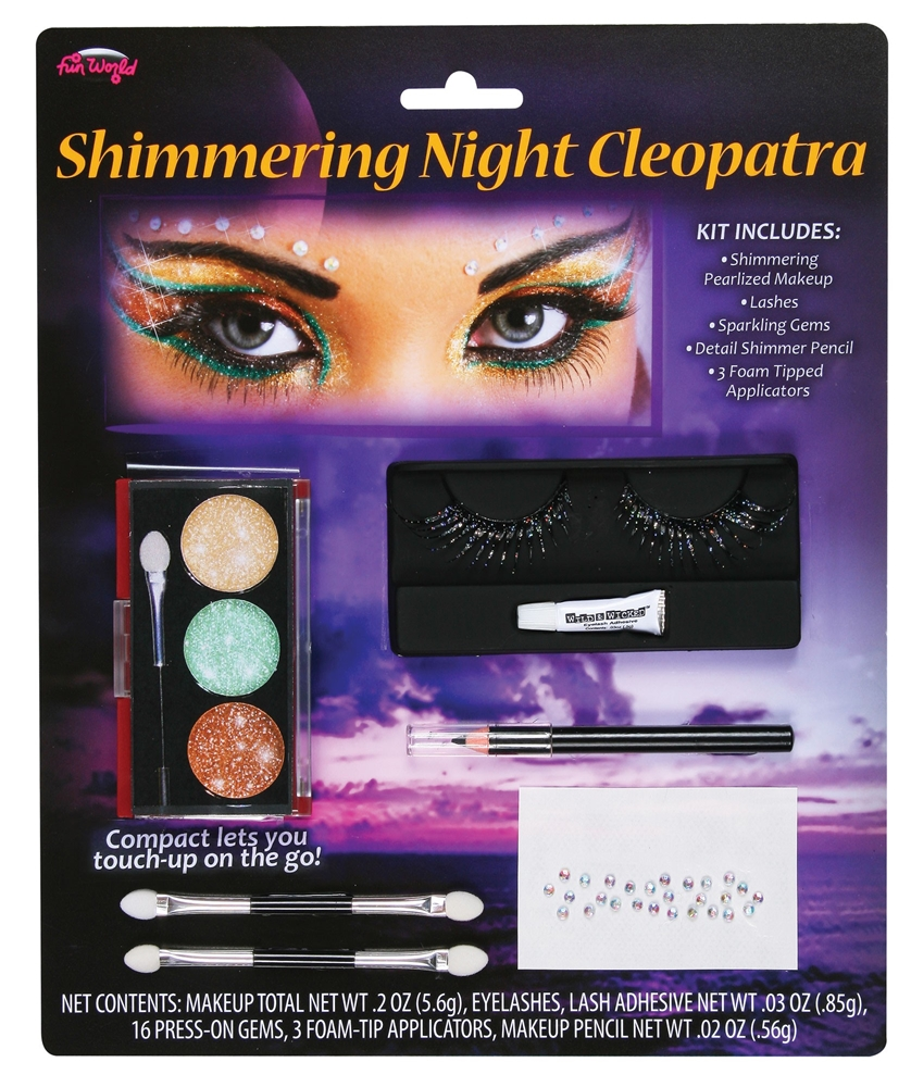 Shimmering Night Cleopatra Makeup Kit