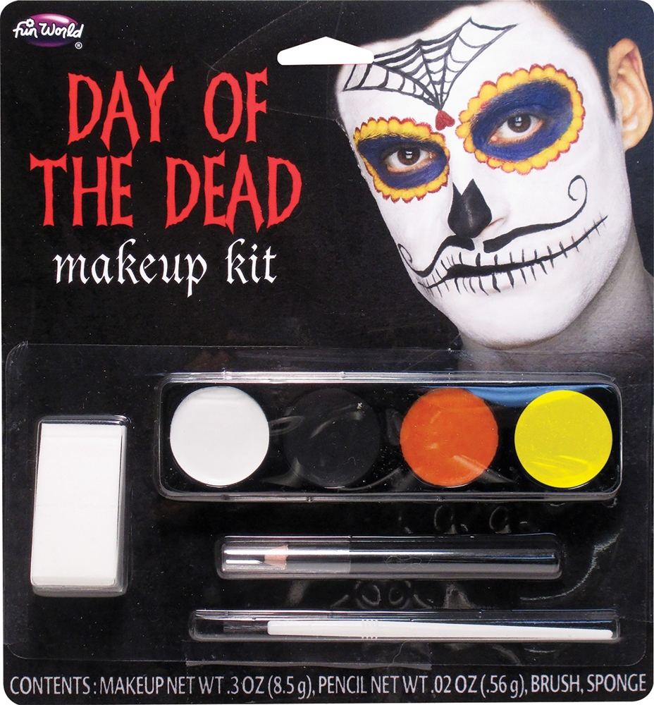 Day of the Dead Mustache Catrin Makeup Kit
