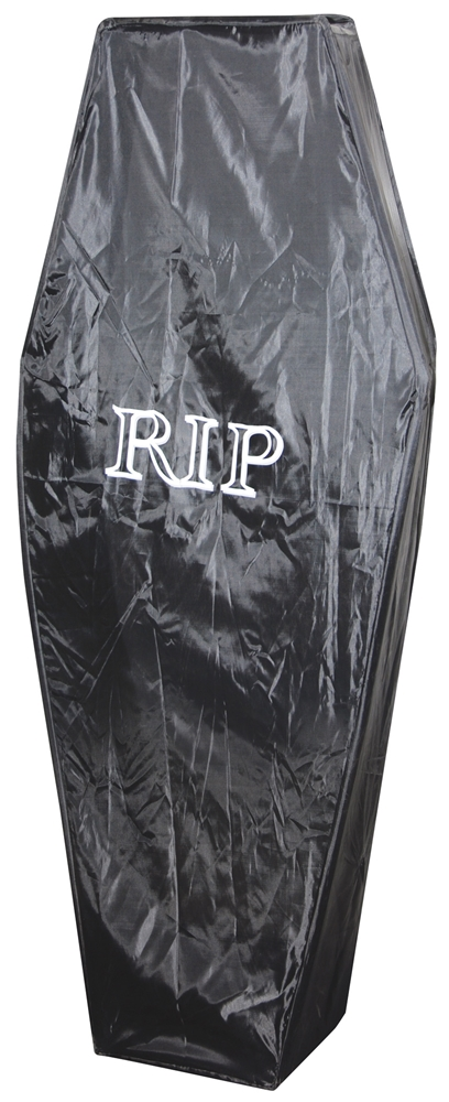 Rest in Peace Pop-Up Coffin