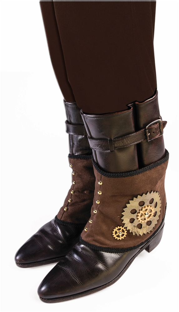 Steampunk Spats with Gears