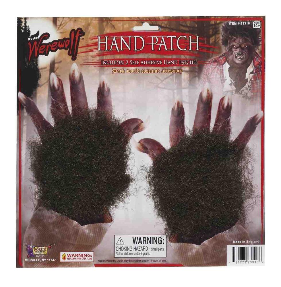 Werewolf Hand Patches