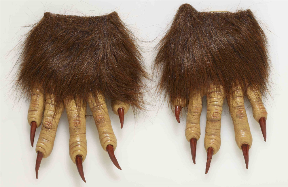 Werewolf Latex Claw Gloves