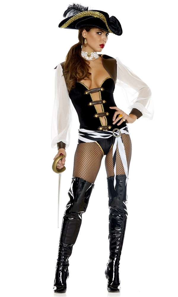 Out to Sea Mistress Adult Womens Costume