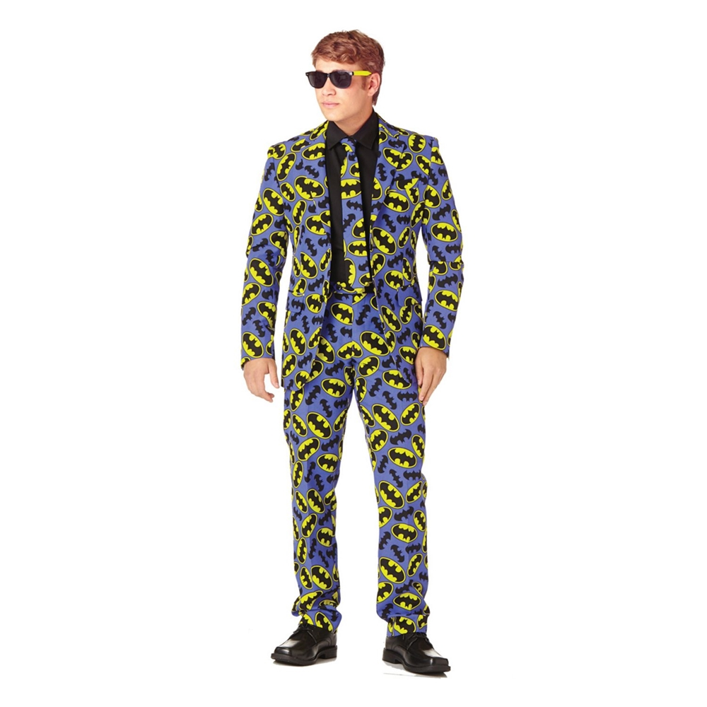 Batman Logo Adult Mens Suit