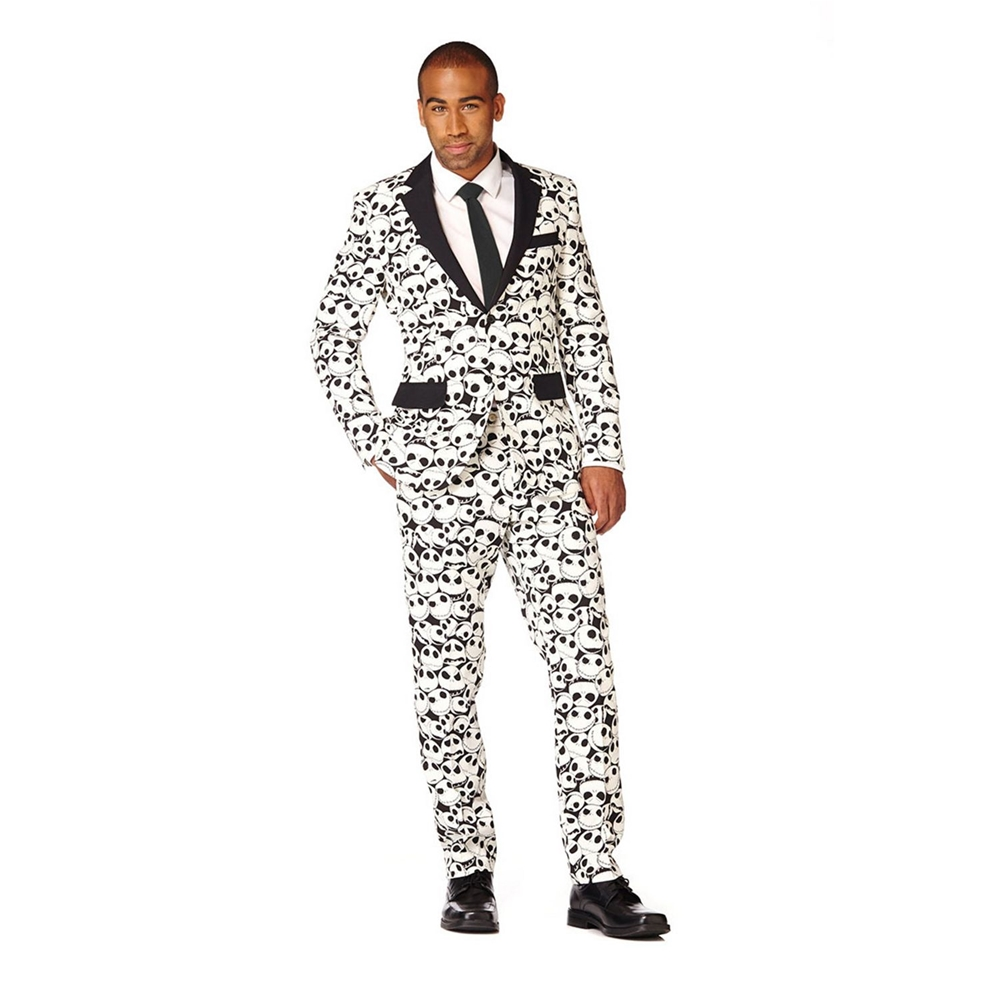 Nightmare Before Christmas Jack Skellington Adult Mens Suit - 374990 ...