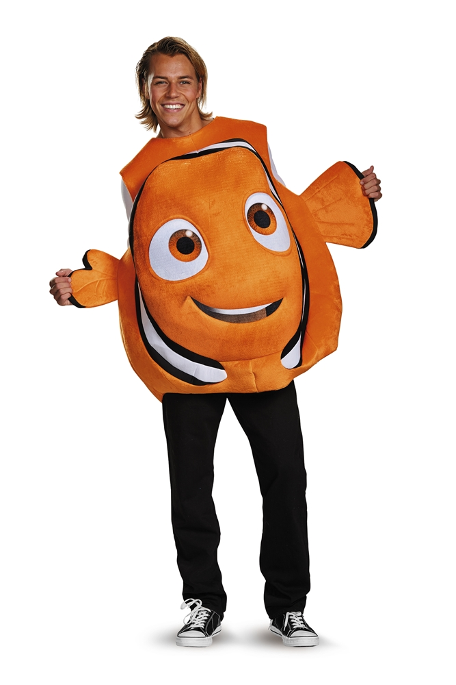 Nemo Fish Tunic Adult Mens Costume
