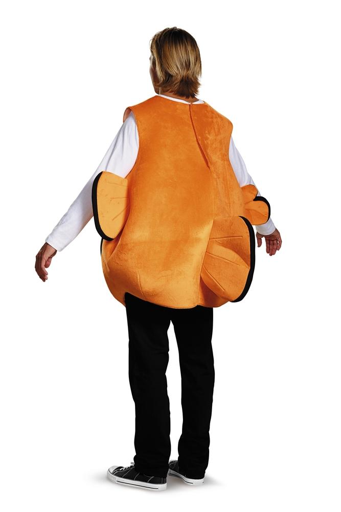 Nemo fish tunic adult mens costume 375409 for Fish costume men