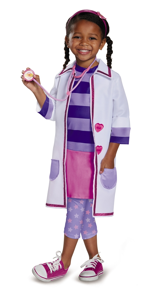 Doc McStuffins Toy Hospital Deluxe Toddler Costume 98574